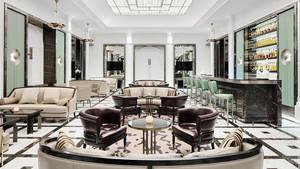 欧式风格典雅精致酒吧设计装修效果图赏析
