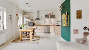 86平米北欧风格自然简约两室两厅室内装修效果图