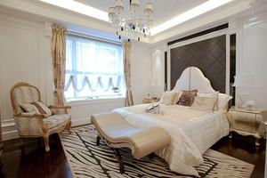欧式风格精致典雅卧室飘窗设计装修效果图