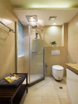 140平米现代风格深色系大户型室内装修效果图案例