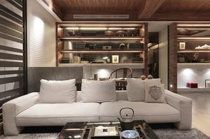 150平米中式风格古韵大户型室内装修效果图案例