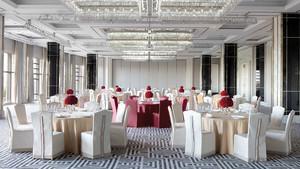 160平米欧式风格酒店吊顶设计装修效果图赏析