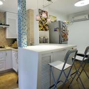 地中海风格简约室内家装吧台设计装修效果图赏析