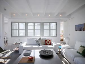 164平米简约风格复式楼室内装修效果图赏析