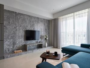 80平米现代风格简装两室两厅室内装修效果图