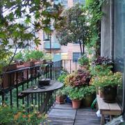 现代风格精致阳台花园设计装修效果图赏析