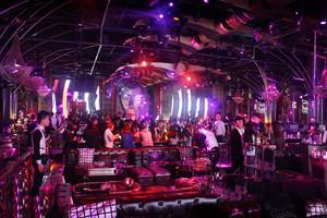 200平米现代风格音乐酒吧设计装修效果图赏析