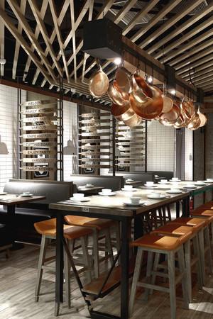 混搭风格精致咖啡厅设计装修效果图赏析