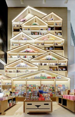 现代风格创意书店设计装修效果图赏析