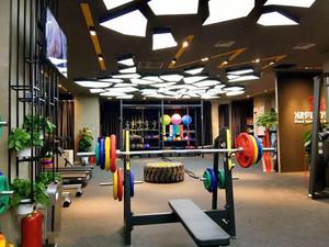 90平米现代风格健身房设计装修效果图赏析