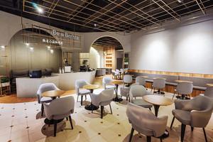 70平米美式风格精致咖啡厅设计装修效果图