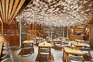 60平米日式风格寿司店餐厅装修效果图赏析