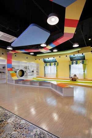 200平米现代简约风格幼儿园环境布置装修效果图