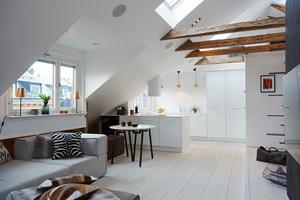 142平米北欧风格简约小复式楼装修效果图赏析