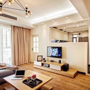美式混搭风格两室两厅室内装修效果图赏析