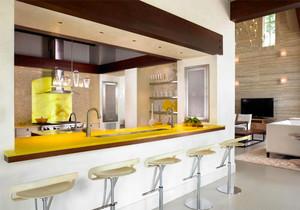 简约风格别墅室内家装吧台设计装修效果图赏析