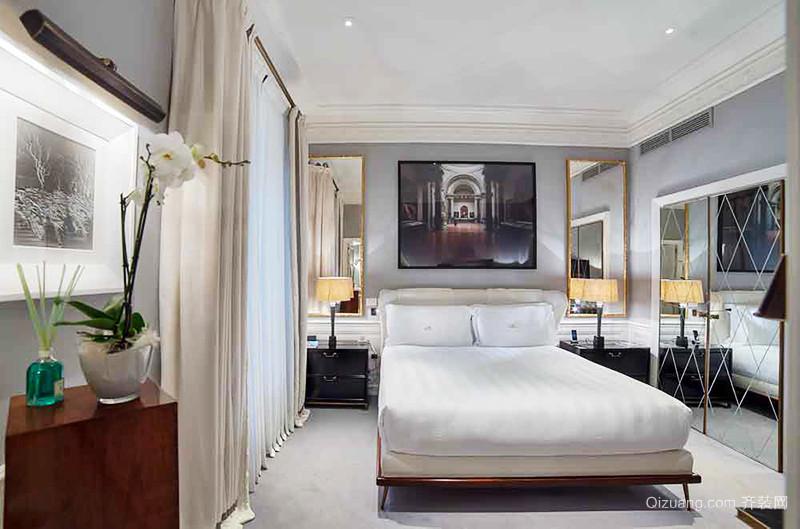 150平米欧式风格简约大户型室内装修效果图