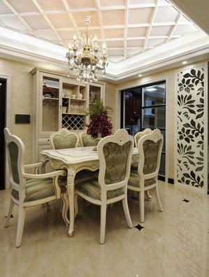 欧式风格精致典雅餐厅吊顶设计装修效果图赏析