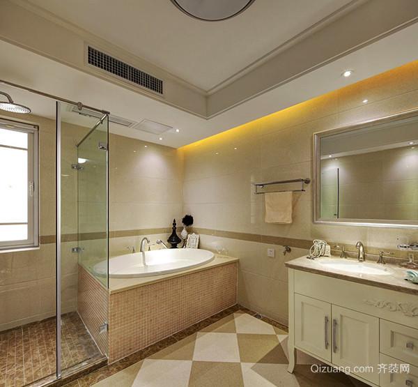 152平米欧式风格精装大户型室内装修效果图