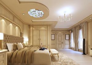 欧式风格精致奢华卧室吊顶设计装修效果图赏析