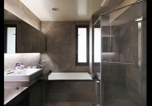 后现代风格简约卫生间淋浴房设计装修效果图赏析