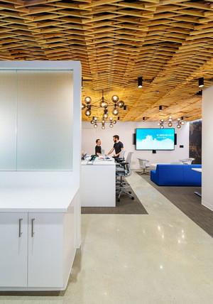现代简约风格办公室装修效果图赏析
