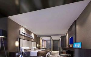 中式风格宾馆标准间设计装修效果图赏析
