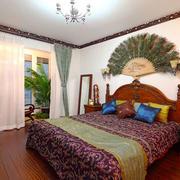 东南亚风格大户型室内精致卧室装修效果图赏析