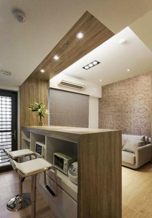 简约风格创意客厅吧台设计装修效果图赏析
