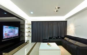 76平米现代简约风格公寓装修效果图赏析