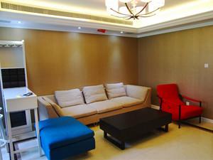 94平米简约风格简装三室两厅室内装修效果图赏析