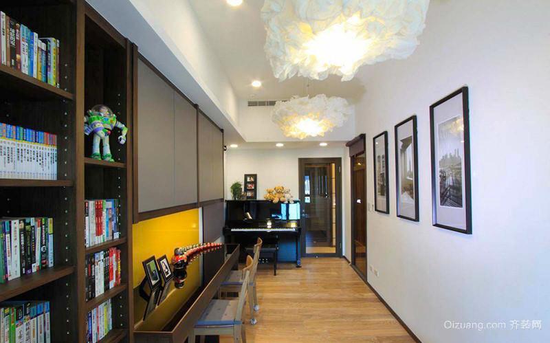 80平米简约中式风格室内装修效果图赏析
