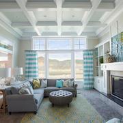 清新风格自然简约客厅装修效果图赏析