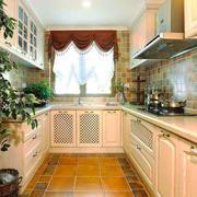 田园风格整体厨房设计装修效果图赏析