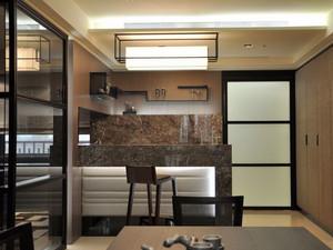 新中式风格大户型室内吧台设计装修效果图赏析