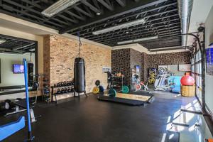 现代风格精致健身房设计装修效果图赏析