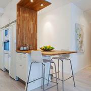 北欧风格自然简约家装吧台设计装修效果图