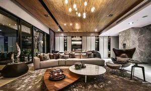 100平米混搭风格精致公寓装修效果图案例