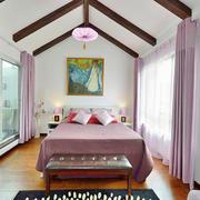 混搭风格精致卧室吊顶设计装修效果图赏析