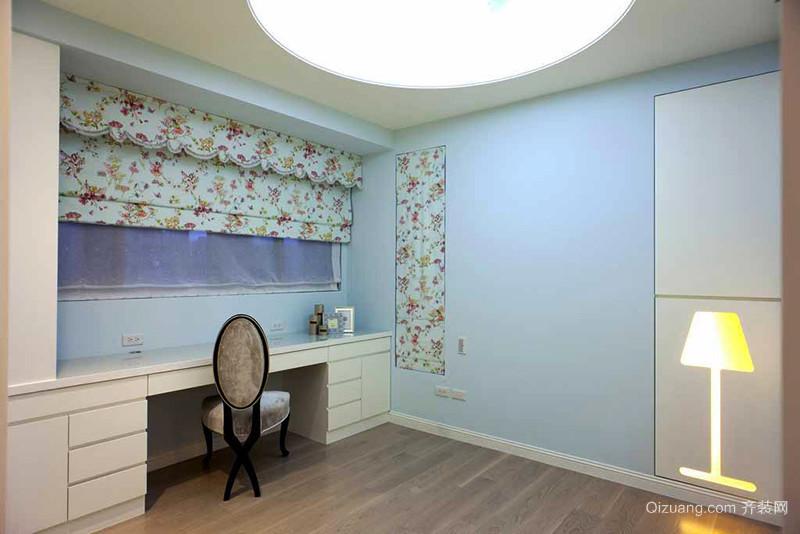 106平米简欧风格简装三室两厅装修效果图赏析