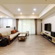 简欧风格简约精致客厅设计装修效果图赏析