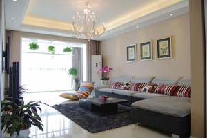 简约风格两居室客厅装修效果图赏析