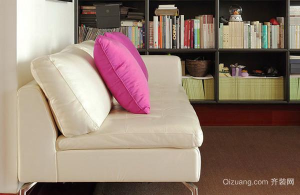 80平米简约中式风格室内装修效果图案例