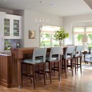 古典欧式风格别墅精致吧台设计装修效果图赏析