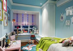清新风格自然活泼儿童房设计装修效果图赏析