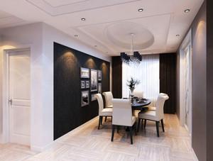 现代风格大户型室内精致餐厅吊顶设计装修效果图