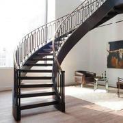 后现代风格别墅旋转楼梯设计装修效果图
