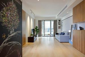 92平米北欧风格简约三室两厅室内装修效果图案例