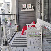 北欧风格简约阳台设计装修效果图赏析