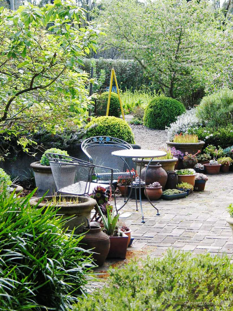 欧式风格别墅花园设计装修效果图赏析